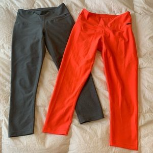 Two Pairs of Oakley Leggings, Size Small
